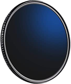 Tickas Nd Filter 62Mm,2-in-1 Ultra Clear 72mm Neutral Density Filter ND8 Circular Polarizing CPL Filter for DSLR camera Le...