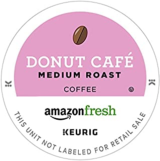AmazonFresh Donut Cafe 80 Ct. K-Cups, Medium Roast, Keurig K-Cup Brewer Compatible
