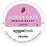 AmazonFresh Donut Cafe 80 Ct. K-Cups,  Medium Roast, Keurig K-Cup Brewer Compatible