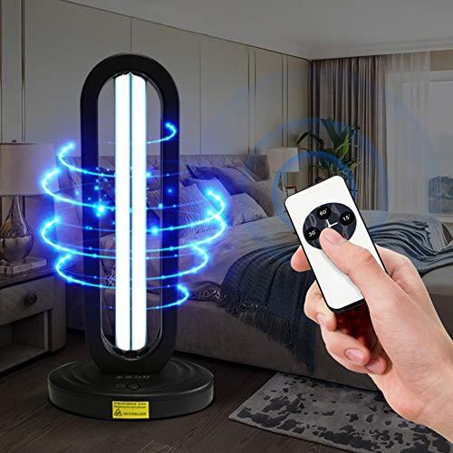 Elimina Los Gérmenes Lámpara De Desinfección,desinfectante Portátil Uvc Anti-bacteriana Tasa 100% Para El Coche Hogar Refrigerador Inodoro Mascota Área Con Ozono Up 20x14x3cm(8x6x1inch)