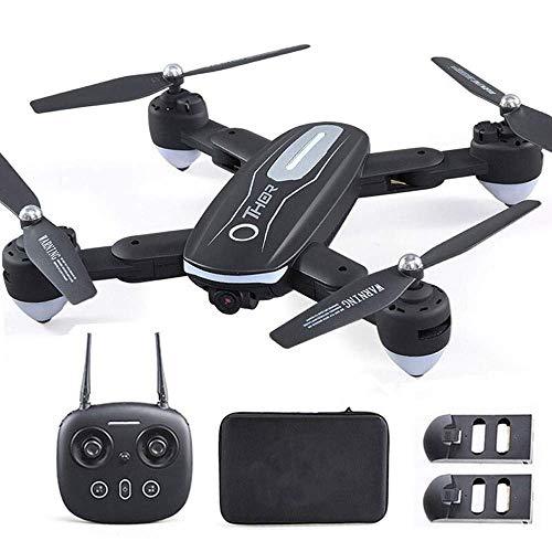 Modelo de juguete WIFI APP Control Altitud Modo sin cabeza Brazos plegables Drone resistente a caídas Drone profesional FPV para vehículos aéreos de larga duración con cámara HD 720P RCLive Video
