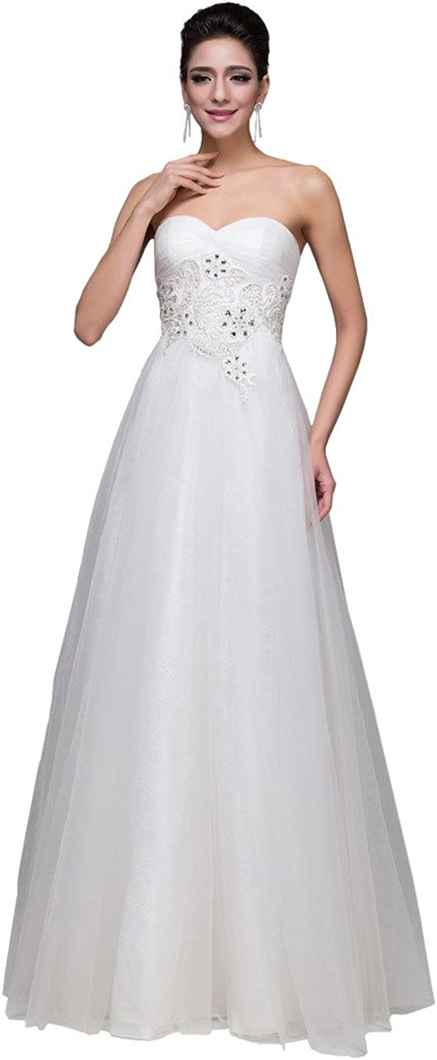 Avril Dress Simple Sweetheart Floor Length Party Evening Dress Applique