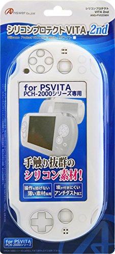 PS VITA2000 silicon protect PS VITA 2nd white (japan import)