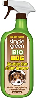 Simple Green Bio Active Stain & Odor Remover for Pet & Carpet- Non-Toxic, Pet & People Safe (32 oz)