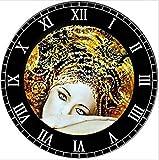 CydAgnF Pinturas para De Bricolaje por Números Reloj De Pared Regalo De Pintura Al Óleo para Adultos Niños Pintura por Número Kits Decoraciones para El Hogar40X50Cm