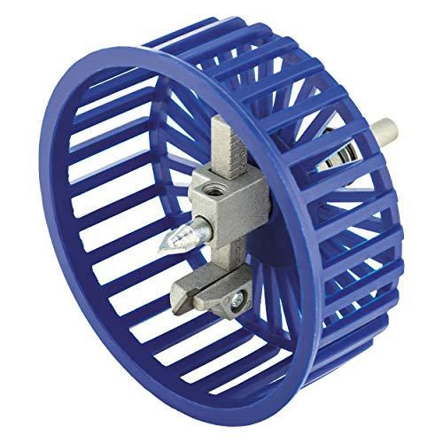 LUX-TOOLS Classic Fliesen-Kreisschneider für Bohr-Durchmesser von 30 mm - 104 mm | Praktischer Bohraufsatz zum Schneiden von Kreisen und Löchern in Materialien wie Kacheln und Fliesen