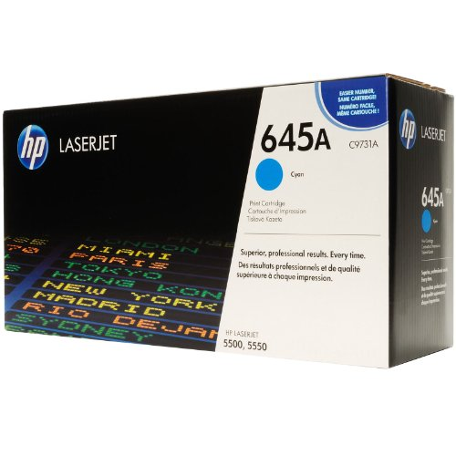 HP Color LaserJet 5550 N - Original HP / C9731A Toner Cyan -