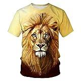 Camisa Casual de algodón con Cuello Alto para Hombre Camisa de Manga Corta Ajustada para niñosTamaño de Calle impreso-14980_SG
