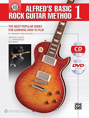 Alfred's Basic Rock Guitar 1 | Gitarre | Buch, CD & DVD (Alfred's Basic Guitar Library, Band 1)