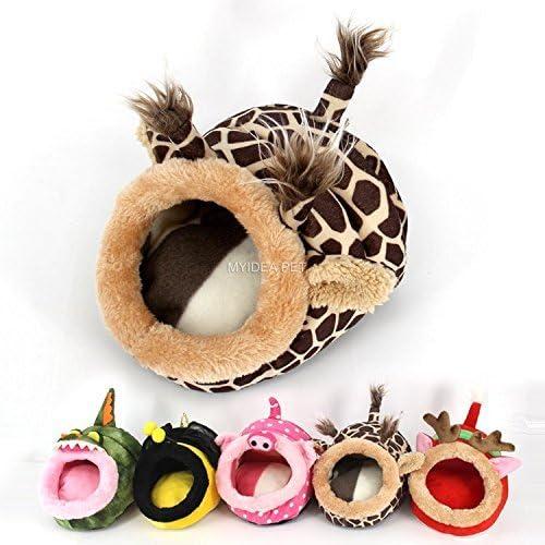 MYIDEA Warm Guinea Pigs Bed,Hedgehog Winter Nest,Rat Chinchillas & Small pet Animals Bed/Cube/House, Habitat, Lightwe...