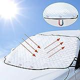 Parasole Auto Parabrezza Anteriore 3 magneti Ripiegabile Contro i Raggi UV per Auto, t roc...