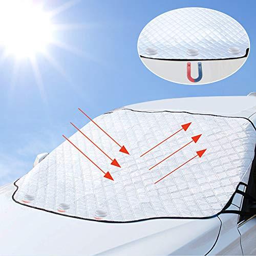 Parasole Auto Parabrezza Anteriore 3 magneti Ripiegabile Contro i...