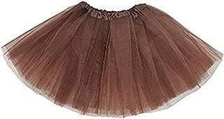 Cloudsemi Damen Tütü Tutu Minirock Petticoat Tanzkleid Ballettrock Pettiskirt Unterrock, ,
