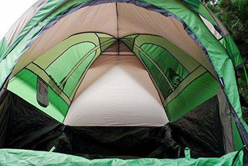Inside the napier truck tent