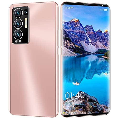 Natuogo Teléfono Celular, 4G Smartphone SIM Teléfonos Android desbloqueados Gratis, 6.1 '' Pantalla Completa, 32MP + 64MP Cámara Trasera Triple AI, Dual SIM, Face ID