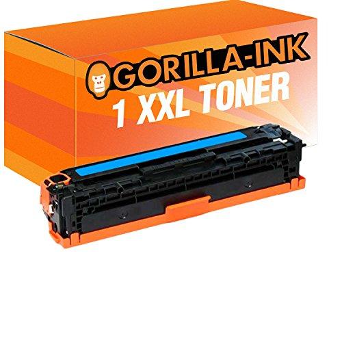 Gorilla-Ink Toner XXL Cyan compatibel met HP CE321A 128A