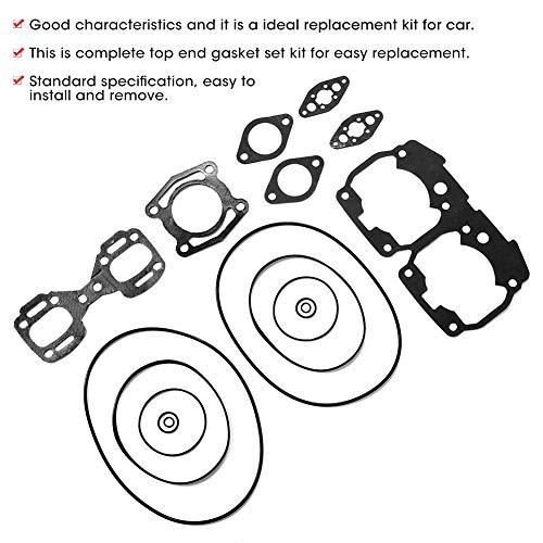 Kompletny zestaw Uszczelka górnego Zestaw Uszczelka, Standardowy Przycisk Dash Repair Repair Wymiana z metalem i gumą dla Sea-Doo GSX/GTX/SPX/XP