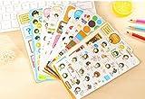 Lovely Cooky's Hallo Tag Aufkleber PVC Organizer Kalender Tagebuch Buch Planer Sammelalbum Dekoration Tagebuch Aufkleber Papeleria 10pcs