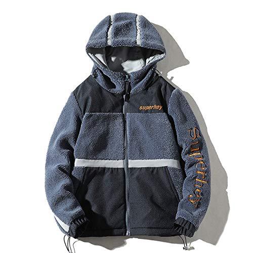 KOUPNLTM herfst en winter nieuwe mantel mannen modieus met capuchon warme jassen casual jas