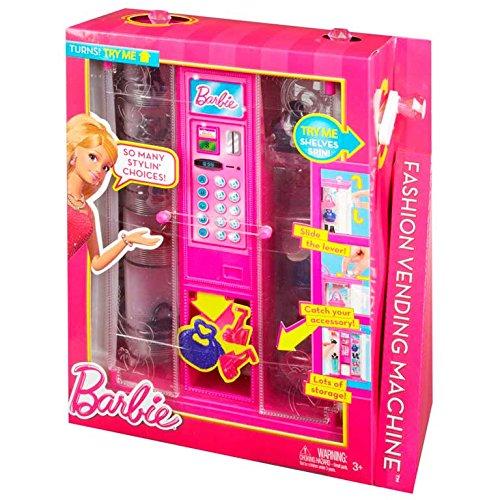 Mattel BGW09 Barbie - Máquina expendedora de Accesorios de Moda, diseño de Vida en Casa de los sueños