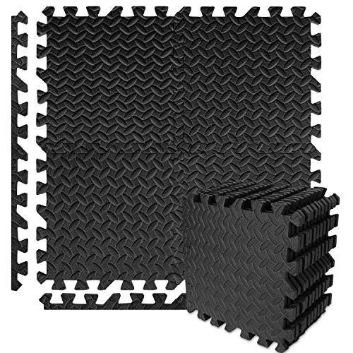 Buluri 12 Pack Puzzle Exercise Mat, Eva Foam Interlocking...