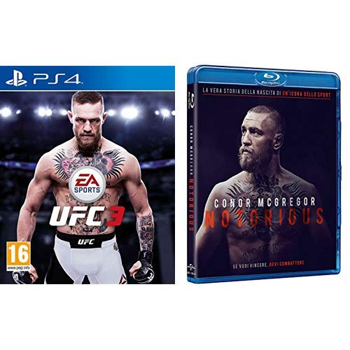 EA Sports UFC3 - PlayStation 4 + Conor McGregor: Notorious (Blu-Ray)