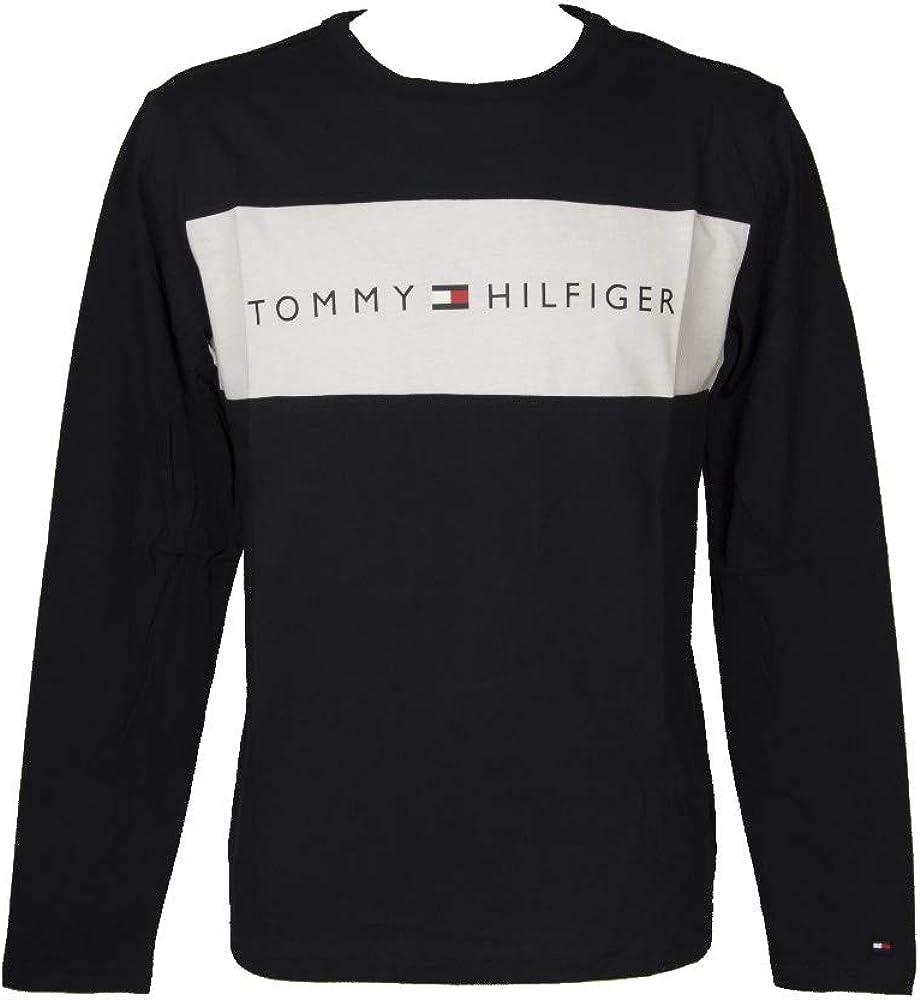 送料無料でお届けします WEB限定 Tommy Hilfiger Underwear Crew Logo Flag Neck