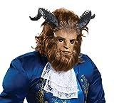 Disguise Men's Beast Ultra Prestige Mask, Brown, One Size