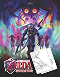 the legend of zelda coloring book: amazing coloring book for everyone with high-quality illustrations of favorite characters zelda for coloring and having fun (cov-12)