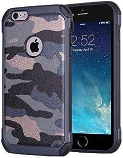 NETONBOX MX Funda para iPhone 6 / iPhone 6s Tipo Camuflaje Uso Rudo Antigolpes para iPhone 6 / 6s Army Camo Armor Anti-Kno...