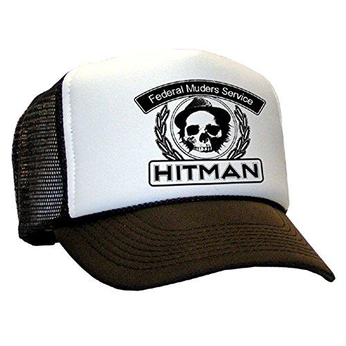 Tedd Haze – Casquette en maille Hitman – Federal muders Service