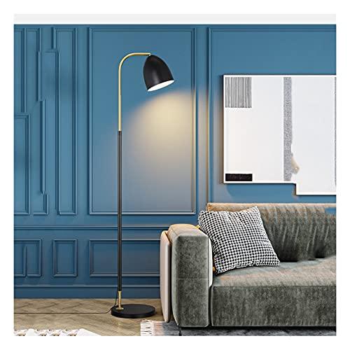 Yxx max -Lámpara de pie Lámpara de pie, Interruptor de pie LED Moderno y Simple Adecuado para la Lectura del Estudio de la Sala de Estar del Dormitorio, lámpara Vertical Lámpara de pie Luz Decorativa