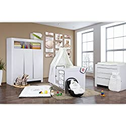 babyzimmer komplett set erfahrungen und angebote. Black Bedroom Furniture Sets. Home Design Ideas