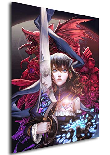 Instabuy Poster - Videogame - Bloodstained - Ritual of The Night A3 42x30