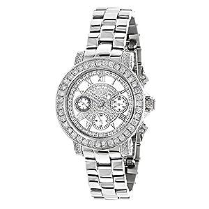 Luxurman Watches Ladies Diamond Watch 3ct