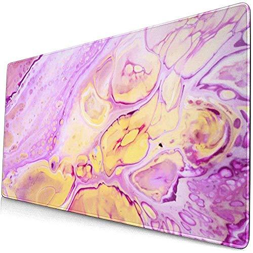 Acryl verf achtergrond met roze poeder muismat muismat muismat anti-slip rubber duurzaam
