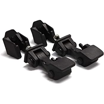 2003 Hood Latches Pair Set 2001 68038118AA 1999 42422 2002 2 1998 2004 Hold-Down Hood Latch Catch Kit 1997-2006 2000 2006 2005 Fits Jeep Wrangler TJ 1997 - Replaces# 55176636AD