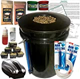 The Atwater HydroPod - DWC Deep Water Culture Garden System Kit - 5 Gallon Bubble Bucket - Bubbleponics - Nutrients & pH Testing/Adjusting Kits are Included! Grow Your Own! Start Today!