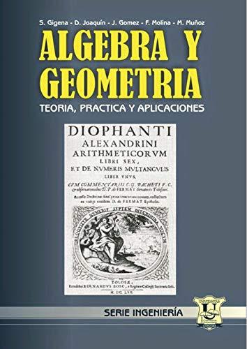 Álgebra y Geometría: Teoría, práctica y aplicaciones (MATEMÁTICAS, CALCULOS Y ALGEBRA nº 6)