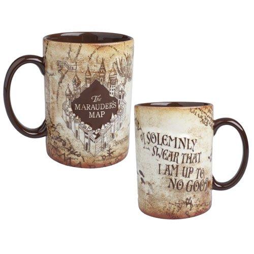 Harry Potter Marauders Map Ceramic Mug Official Warner Bros. Studio Tour London Merchandise by Warner Bros.