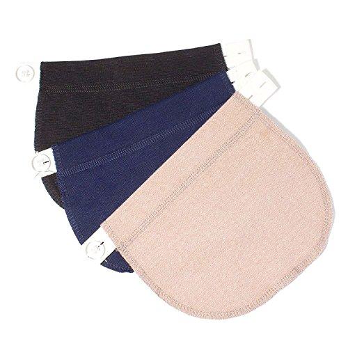kangyh Alargador de Cintura para Embarazadas | Adapta tu Ropa de Siempre a Ropa de Embarazo y Premama | Apto para Pantalon y falda100% Garantía
