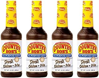 Country Bob's All Purpose Sauce, 13 Ounce (Pack of 4)