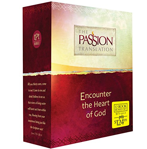 Compare Textbook Prices for The Passion Translation 12-in-1 Collection: Encounter the Heart of God Paperback – A Beautiful Boxed Gift Set that is Perfect for Confirmation, Christmas, and More  ISBN 9781424553495 by Simmons, Brian
