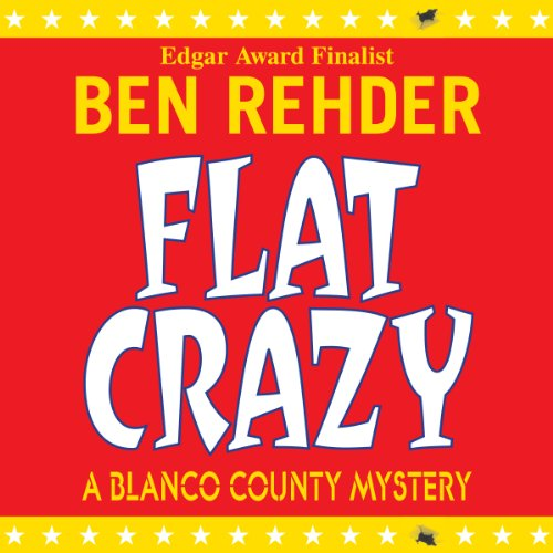 Flat Crazy audiobook cover art