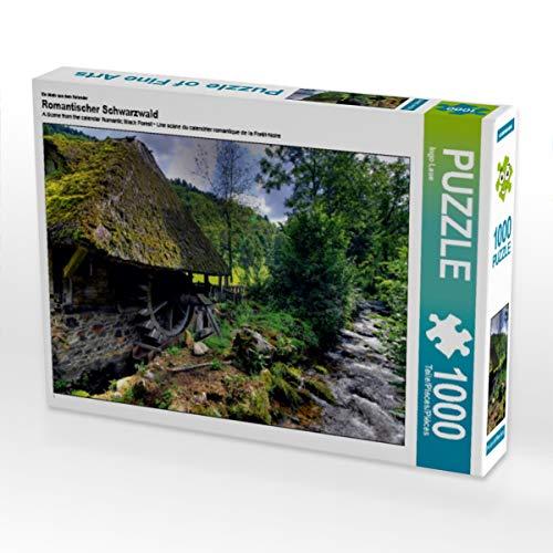 CALVENDO Puzzle Romantischer Schwarzwald 1000 Teile Lege-Größe 64 x 48 cm Foto-Puzzle Bild von Ingo Laue