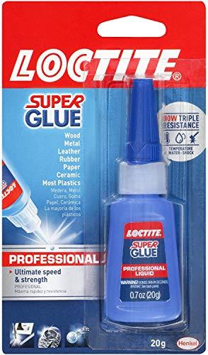 Loctite 1597701 - Botella de pegamento líquido profesional (20 gramos) (12 unidades)