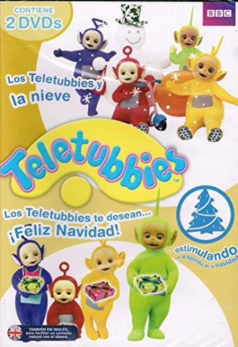 TELETUBBIES LOS TELETUBBIES Y LA NIEVE -LOS TELETUBIES TE DESEAN FELIZ NAVIDAD -(2 DVD)