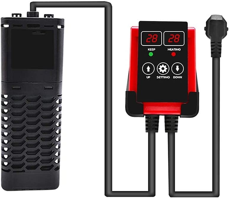 Fitnessgal Challenge the lowest price Aquarium Heater 1200W Digital Submersible High Power Ranking TOP20