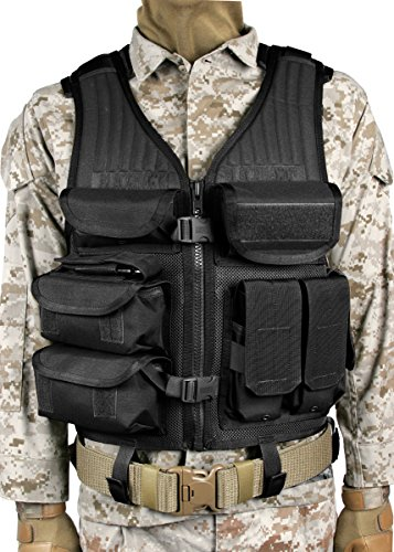 BLACKHAWK Omega Elite Tactical Vest EOD - Black