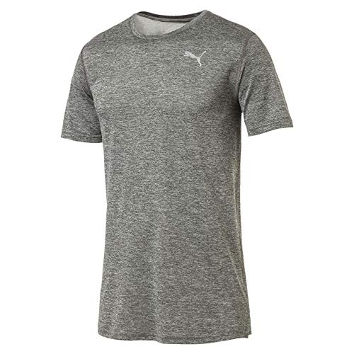 PUMA Ignite Heather Herren T-Shirt Medium Gray Heather XL
